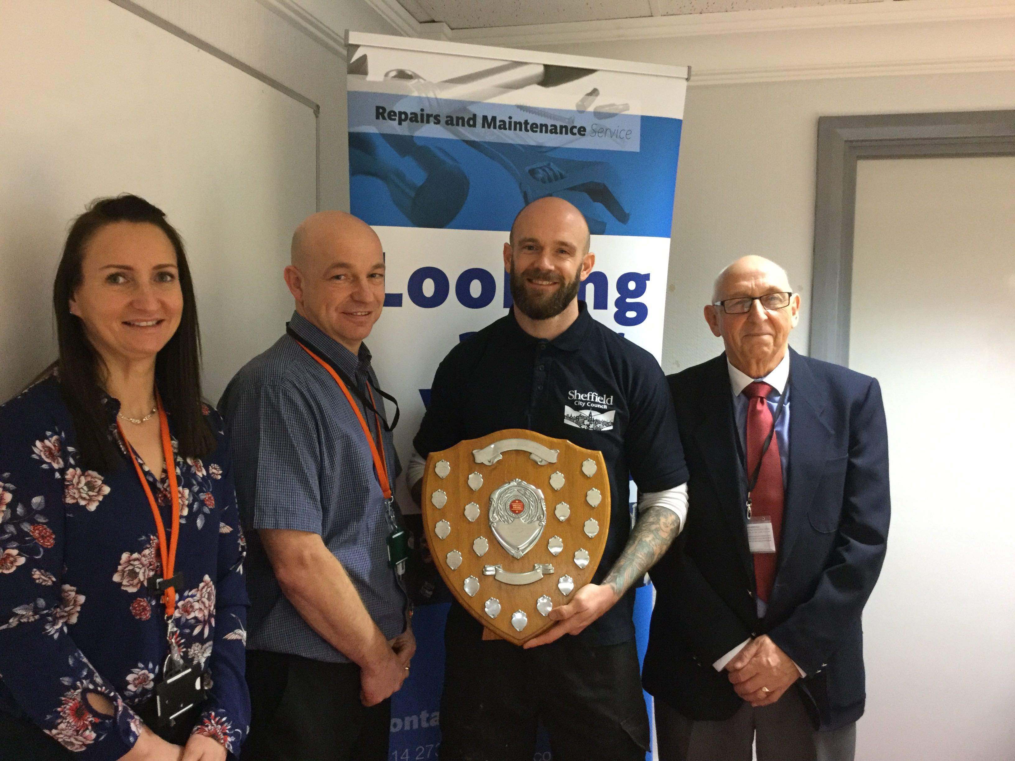 Outstanding Joinery Apprentice Receives College Award
