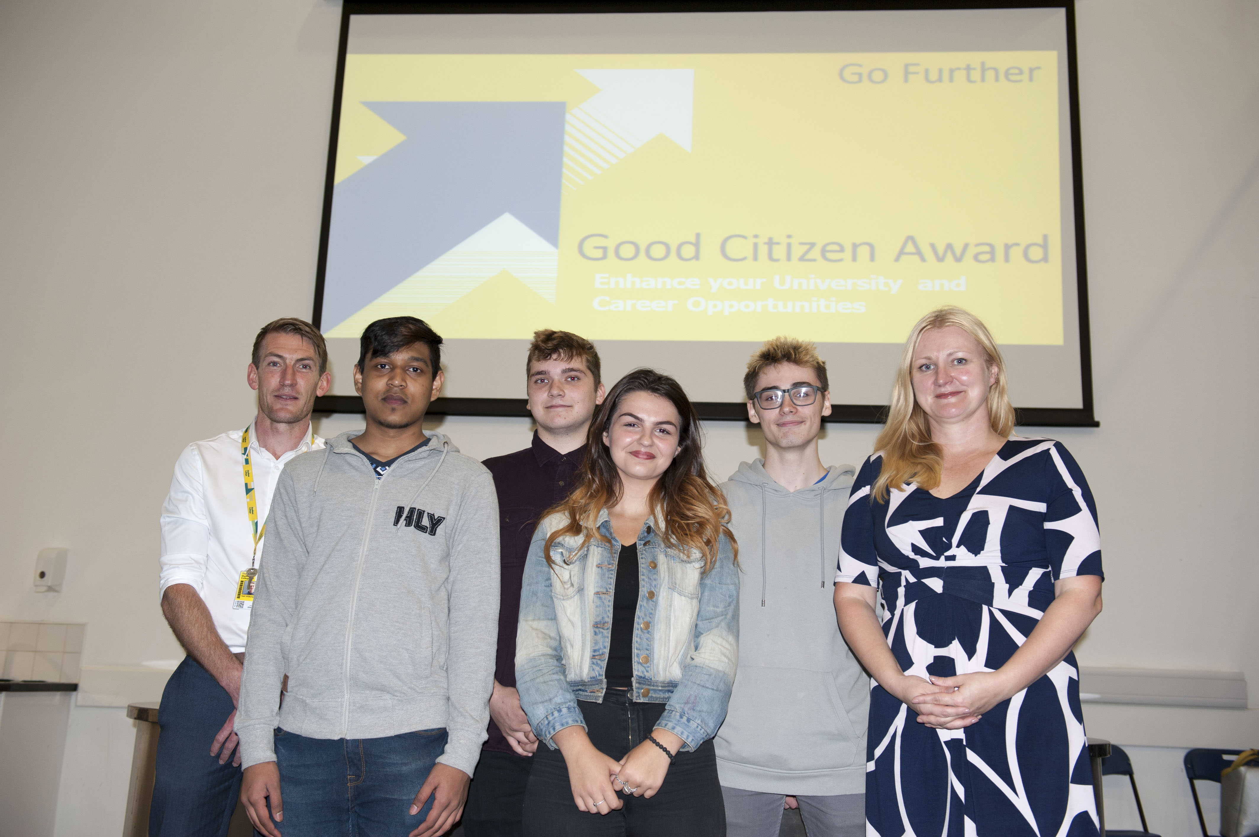 Good Citizen Award launches for Sheffield College students