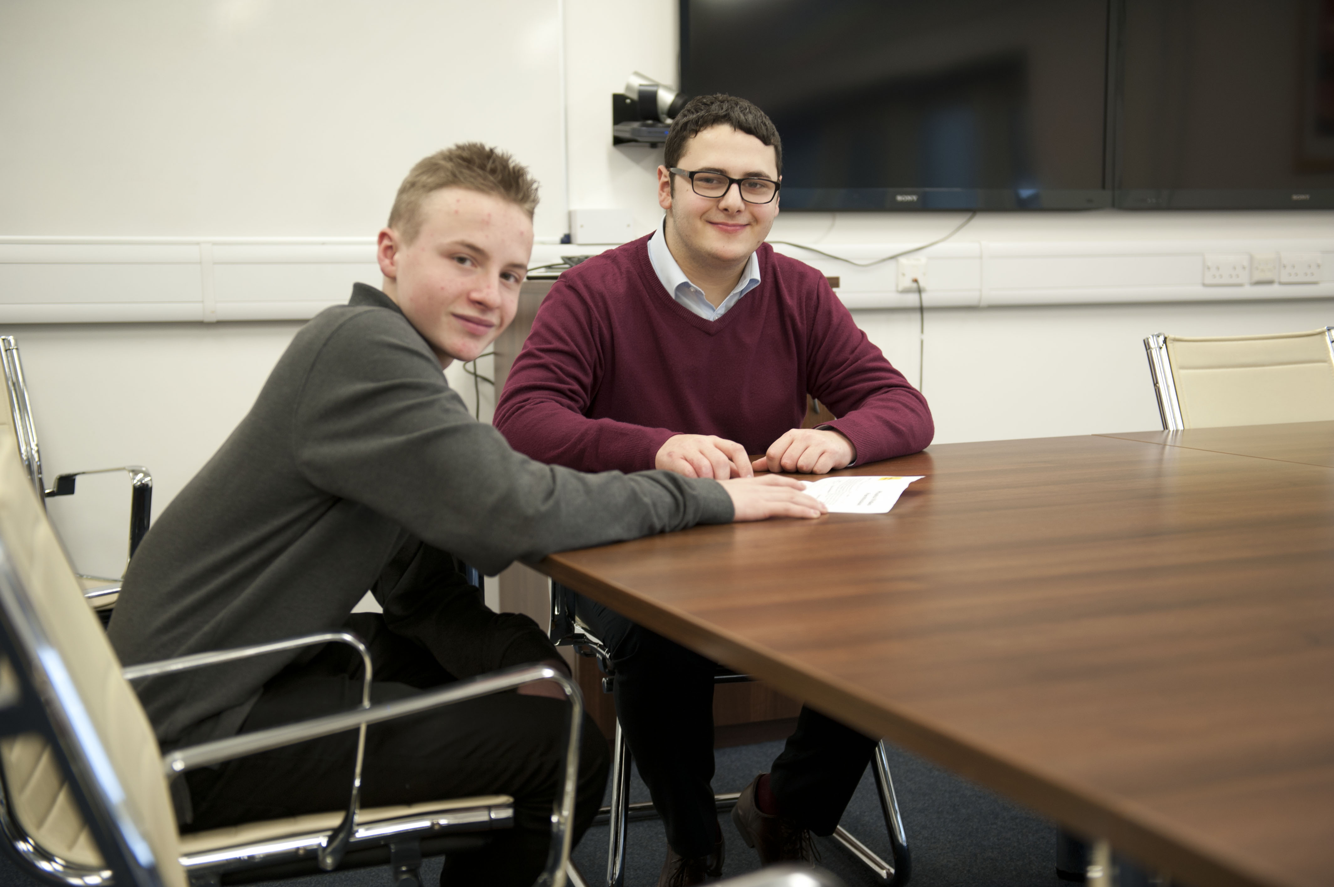 Enterprise Students Pitch For Success At Wake Smith