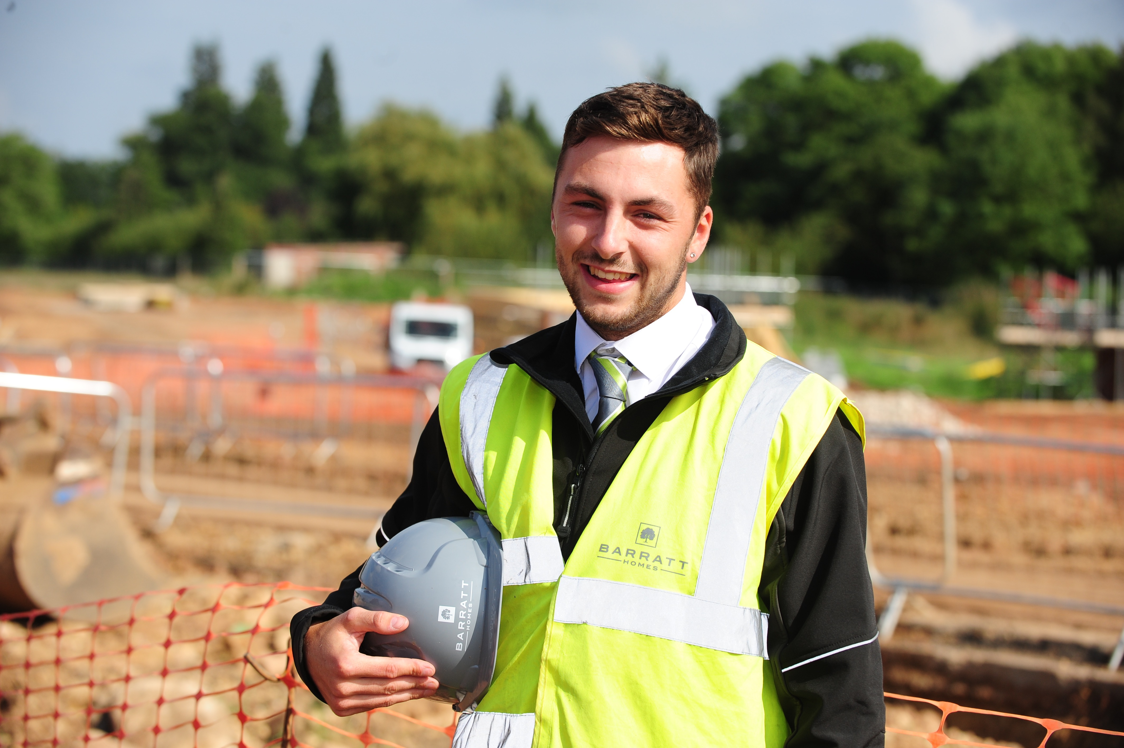 Apprentice Secures Job Success With Barratt Homes North Midlands