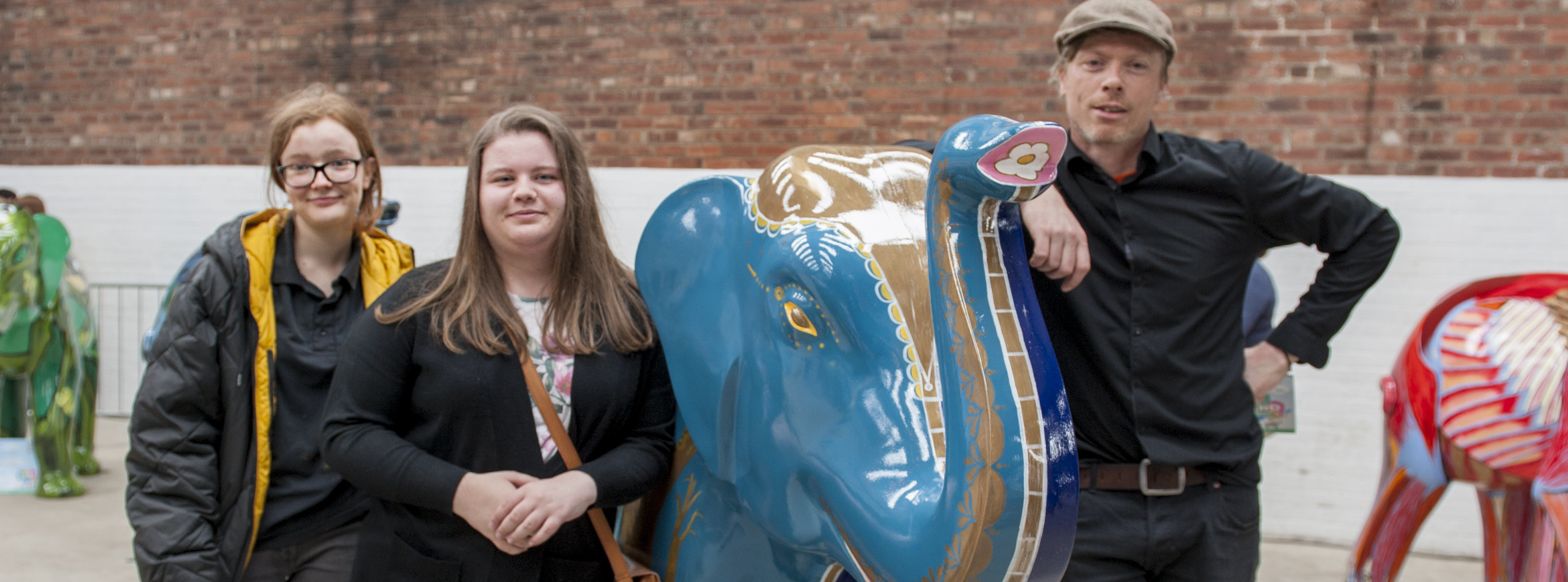 Design and Visual Arts Students Support Herd of Sheffield