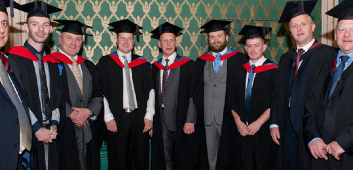 Sheffield College Degree Students Graduate