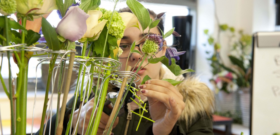 Floristry Apprentice To Compete In WorldSkills UK