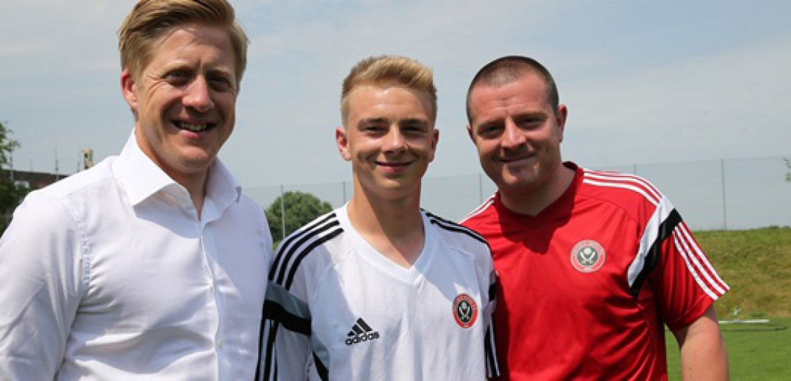 Student Scores First Success On Football Education Scheme