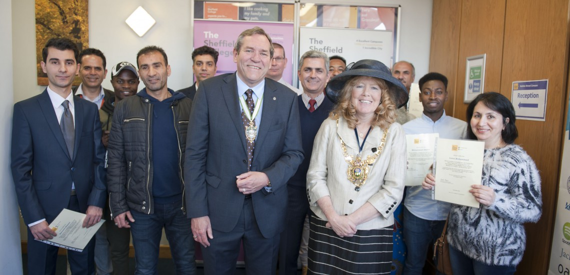 Lord Mayor Supports Student Celebration of Employability Skills