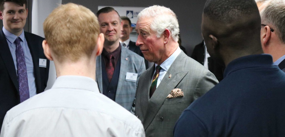 HRH The Prince of Wales Reignites Furnace in UK Steel Industry Revival