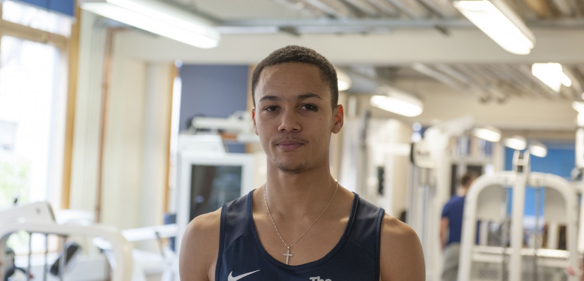 Talented student sprinter scores sports first for The Sheffield College