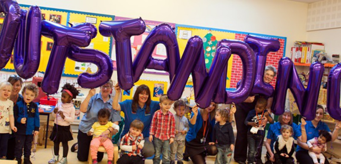 Sheffield College Nursery Graded 'Outstanding'