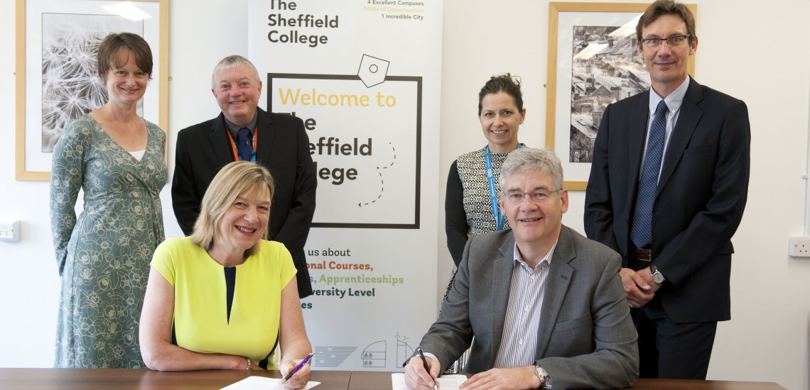 Two Of Sheffield's Leading Employers Sign Five-Year Partnership