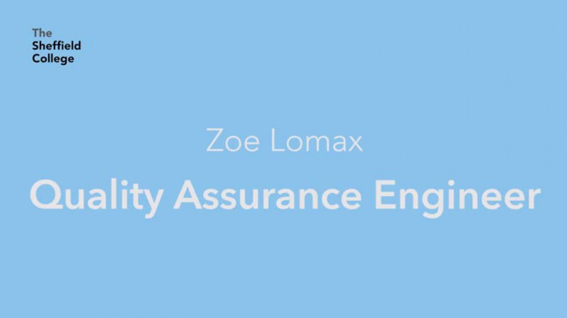 Software quality assurance engineer - Zoe Lomax @ Plusnet