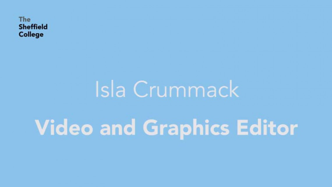 Video and Graphics Editor - Isla Crummack @ TeleVideo