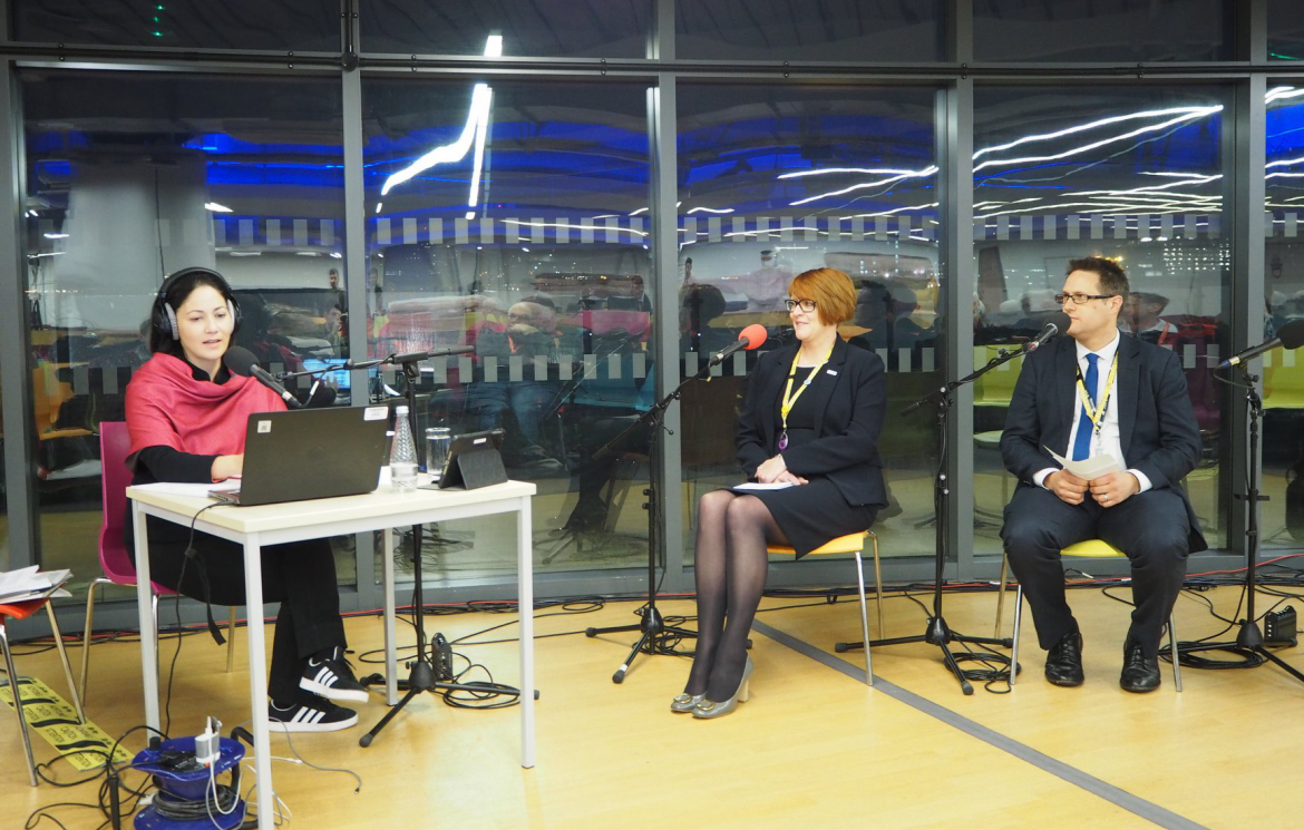 BBC Radio 4 broadcasts live from The Sheffield College in a national FE first