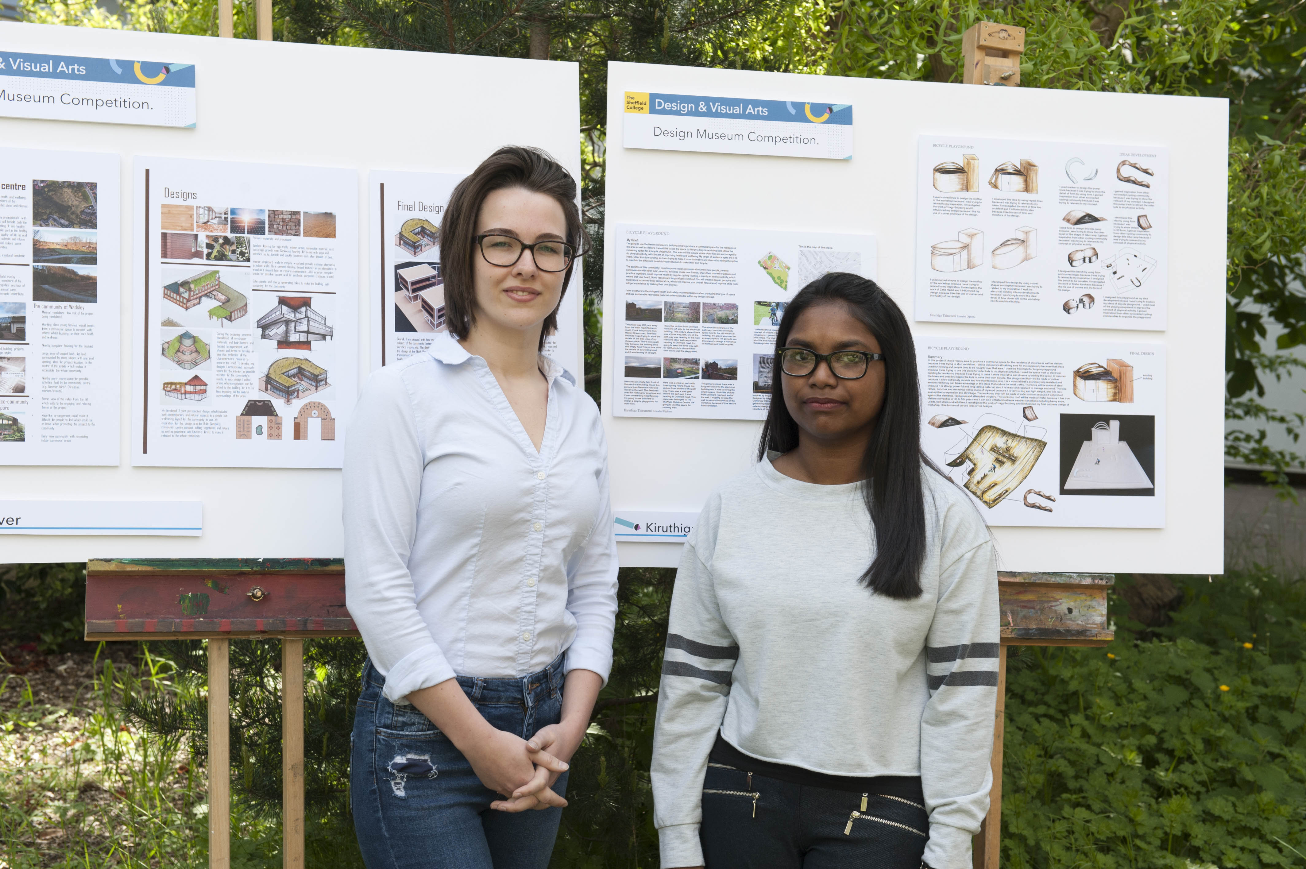 Students' Double Design Museum Success
