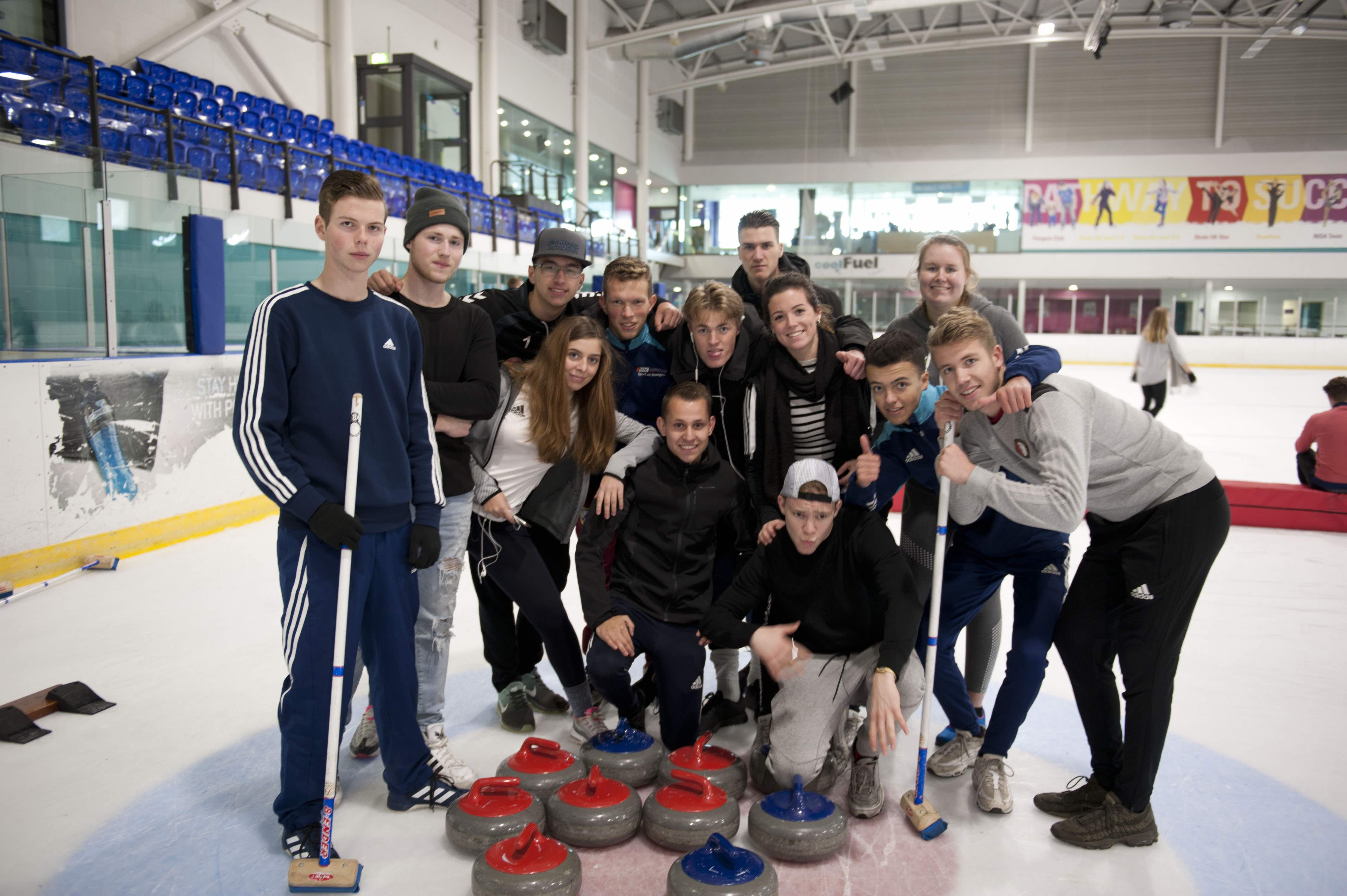 European Students Benefit From Sporting Programme In Sheffield