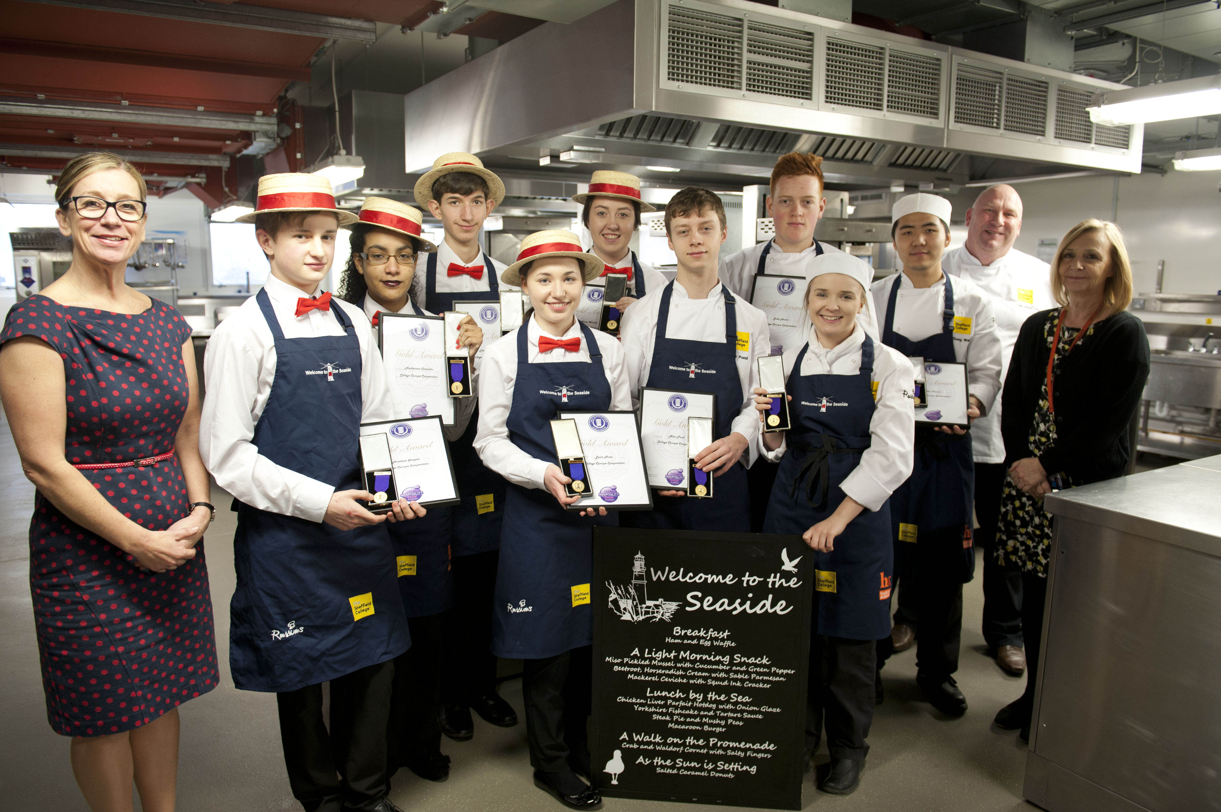 Catering Students Win Gold At Great Hospitality Show