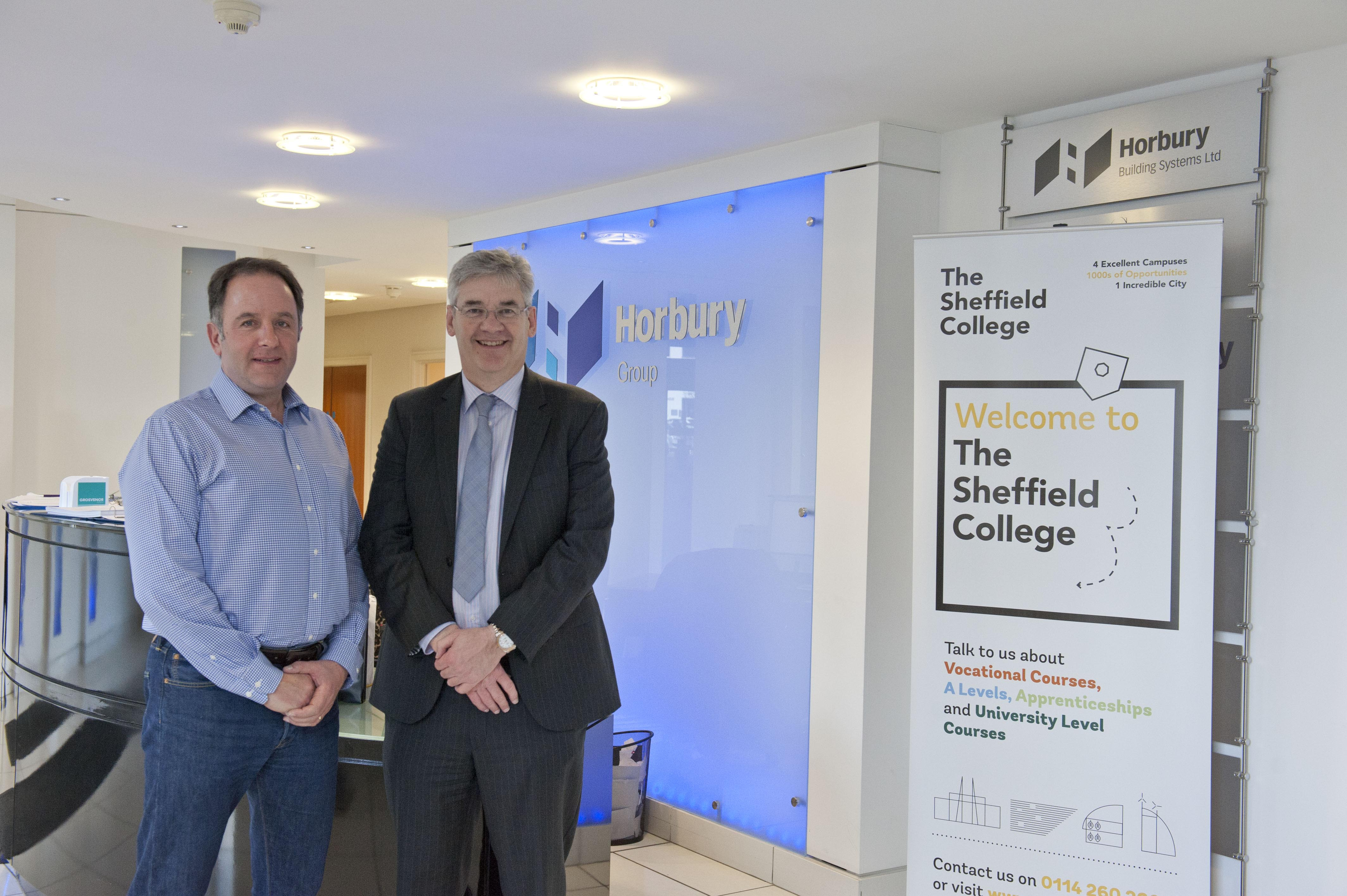 Sheffield College Apprenticeship Partnership With Horbury Group
