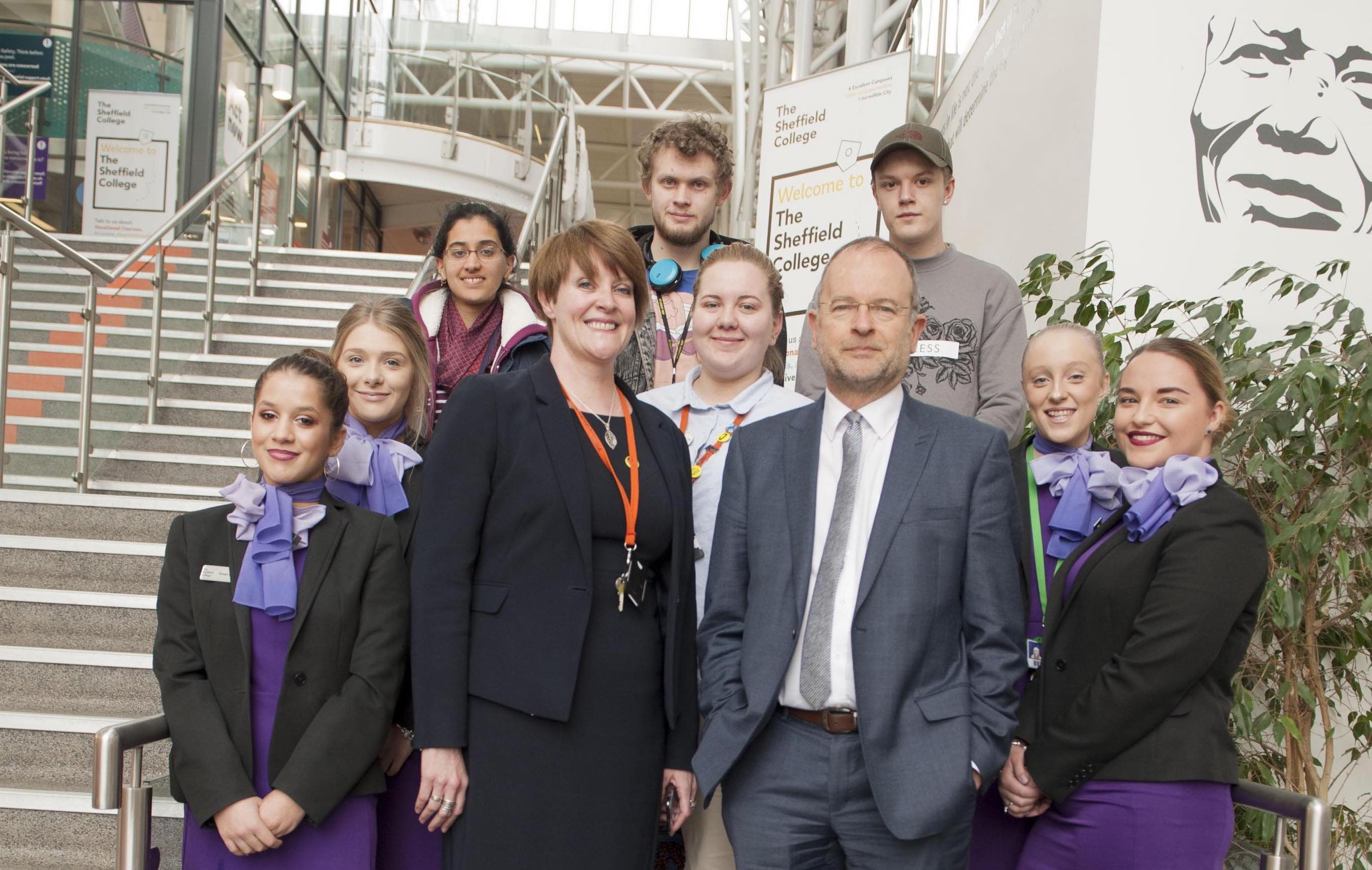 Students Discuss Fair Vote Campaign With Local MP