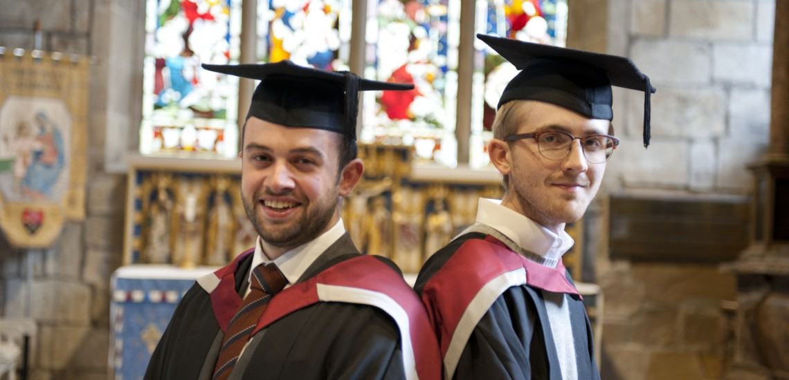 College's First Honours Degree Students Graduate