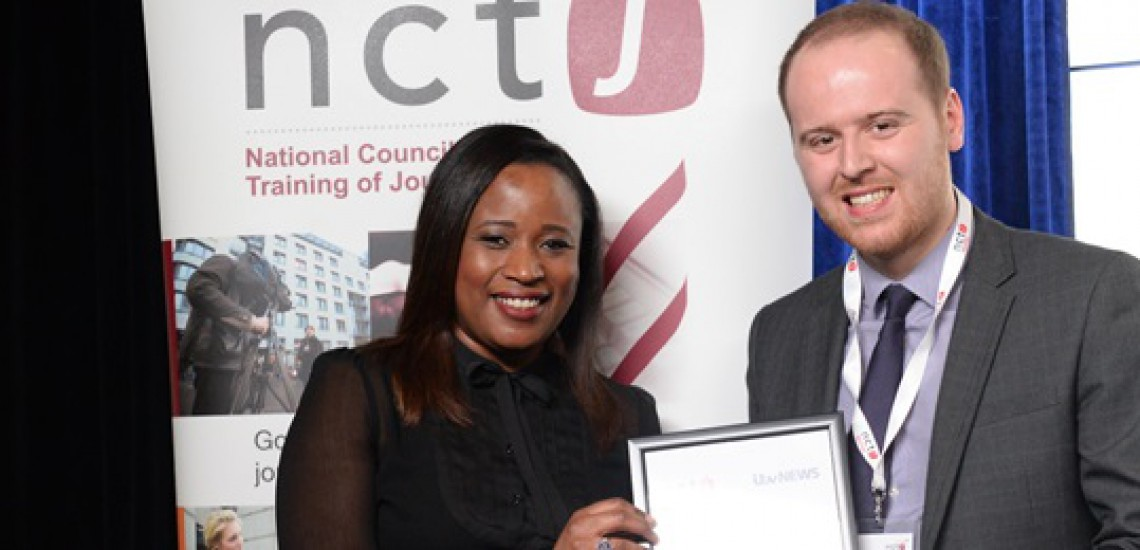 Journalism Student Wins National Industry Award