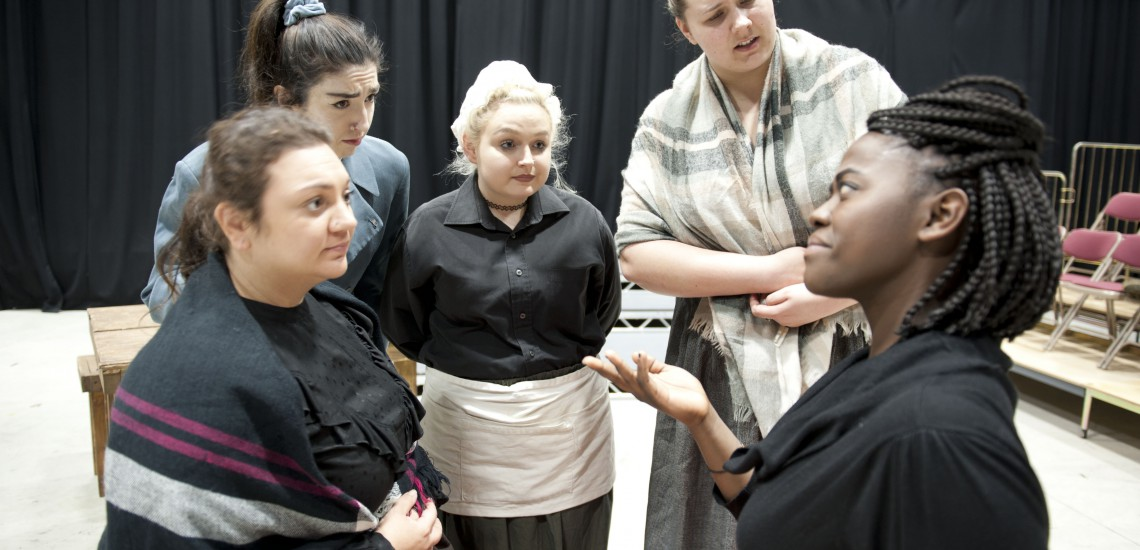 Industrial Kelham Island Setting Inspires New Drama Students Show