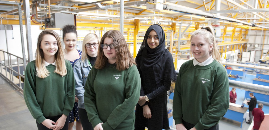 Campaign To Inspire Female Engineers Of The Future